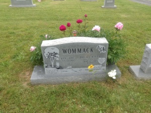 Mom's grave, May 2013